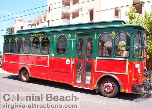 Colonial Beach Trolley