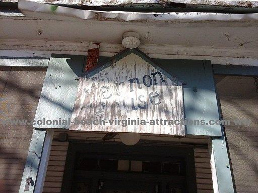 Vernon House sign