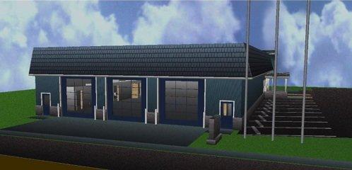 Rescue Squad Proposed New Building