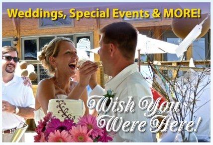 Wedding at High Tides Restaurant